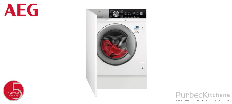 7000 SERIES INTEGRATED WASHER DRYER 8 KG 1600 RPM