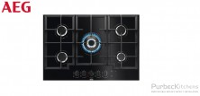 GAS ON GLASS HOB 75 CM