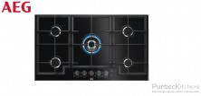 GAS ON GLASS HOB 90 CM
